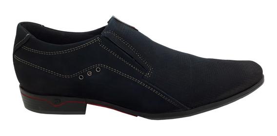 Sapato Social Masculino Pegada Em Couro 122242