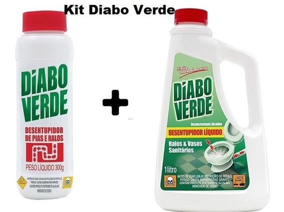 Kit Desentupidor Liquido E Granulado De Pias Ralos Vasos