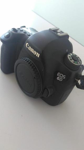 Camera Canon 6d Com 209890 Cliques (usada)