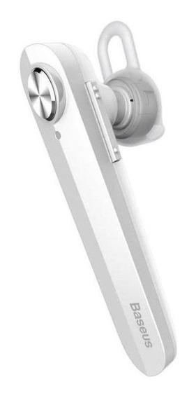 Fone De Ouvido Bluetooth 4.1 Alta Fidelidade Baseus Branco
