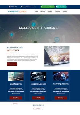 Wb Site Simples Estilo Blog