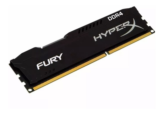 Memória Kingston Hyperx Fury 4gb 2666mhz Ddr4 Black