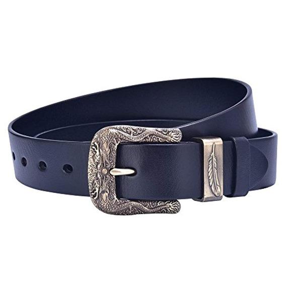 Talleffort Cinturón De Vestir Diseñador