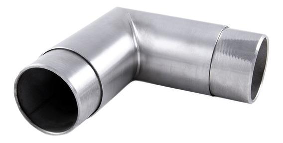 Codo Para Barandal Inoxidable Tubo-tubo A 90 Grados