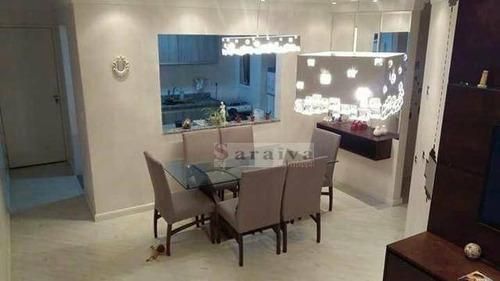 Imagem 1 de 20 de Apartamento À Venda, 84 M² Por R$ 400.000,00 - Vila Euclides - São Bernardo Do Campo/sp - Ap3399