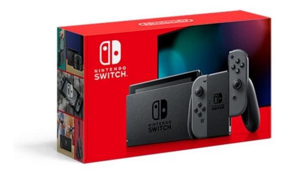 Novo Nintendo Switch Com Joy - Con Cinza