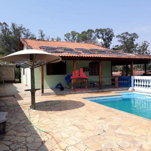 Chácara Com 3 Dormitórios À Venda, 1760 M² Por R$ 290 - Centro (tupi) - Piracicaba/sp - Ch0110