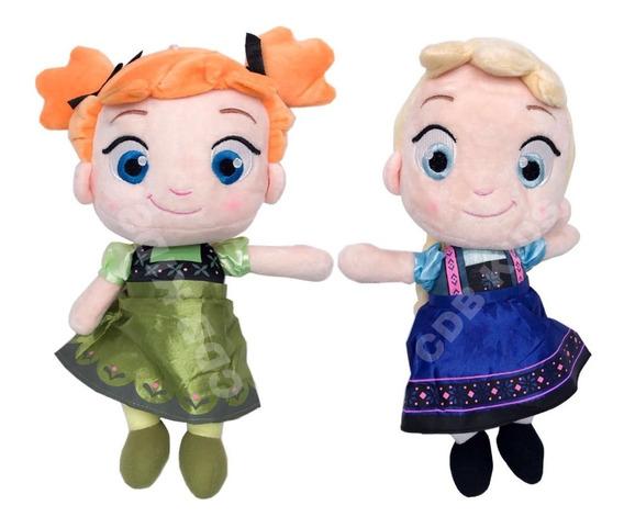 Pelúcias Frozen Ana E Elsa Baby