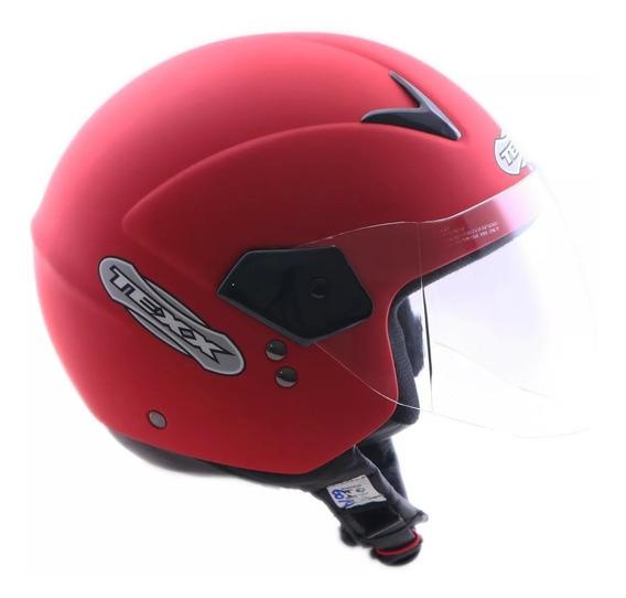 Capacete Moto Aberto Texx Gama Tam 56 Ou 60 Verão