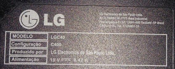Notebook Lg C400 Queimado