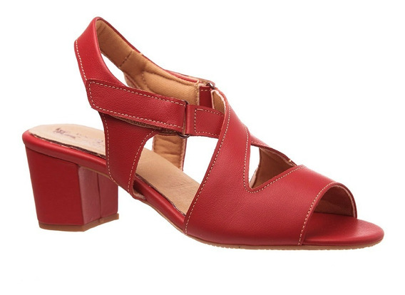 Sandália Feminina 284 Em Couro Ferrari Doctor Shoes
