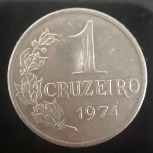 Moeda 1 Cruzeiro Ano 1974