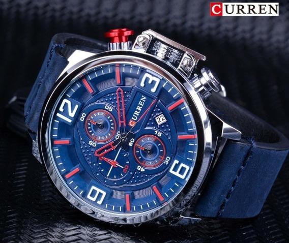 Relógio Masculino Azul A Prova D