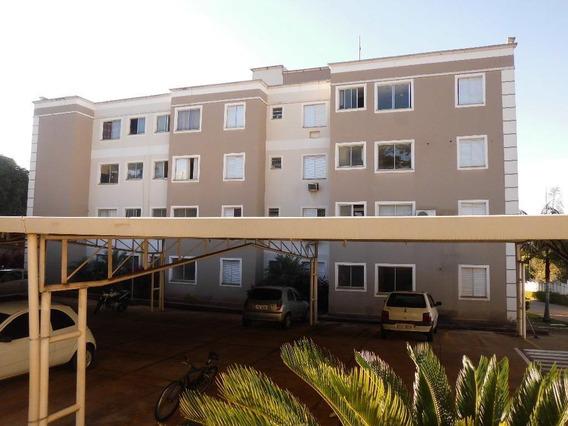 Apartamento Em Jardim Paulista, Araçatuba/sp De 46m² 2 Quartos Para Locação R$ 900,00/mes - Ap617193