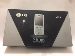 Celular Lg Me 770 Shine Slim Novo