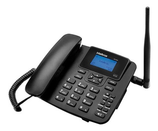 Telefone Celular Rural Fixo Intelbras Gsm Cf 4202 Dual Chip