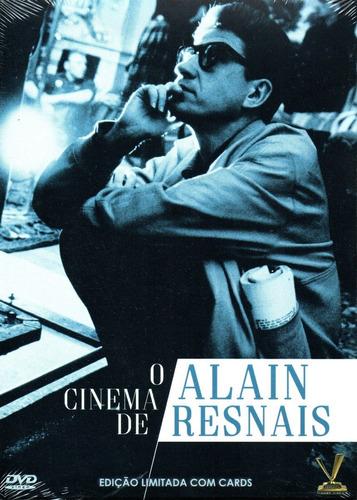 Imagem 1 de 2 de Dvd Box O Cinema De Alain Resnais - Versatil - Bonellihq Q20
