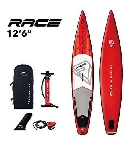 Imagen 1 de 10 de Paddle Board Race Grande, Tabla De Surf Inflable (381x75x15)