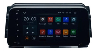 Central Multimidia Nissan Kicks Car Play Android 8.0 Tv Full