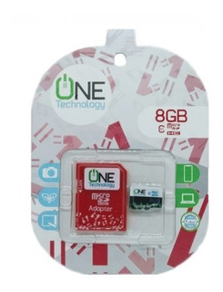 Memoria Micro Sd 8gb Para Celular O Tablet One Technology