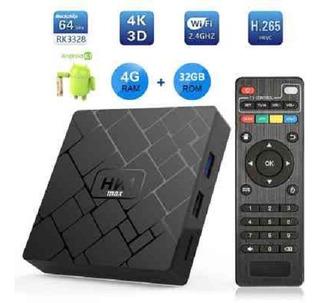 Tv Box Q96 Max 4gb Ram + 32gb Rom Android Potente
