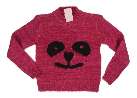 Sweater Nucleo Nena Panda Pelo Mono. Regalosdemama