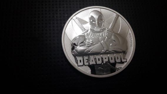Moneda Coleccionable Deadpool 2018 Edicion Limitada