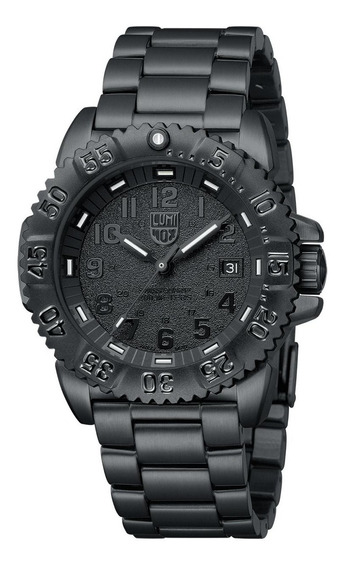 Relógio Luminox Navy Steel Colormark Black 3152.bo