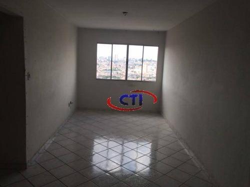 Imagem 1 de 13 de Apartamento Para Locação, Rudge Ramos, São Bernardo Do Campo. - Ap1722