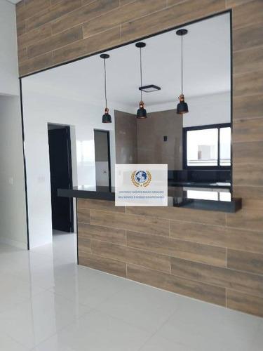 Casa Com 3 Dormitórios À Venda, 390 M² Por R$ 1.200.000,00 - Condomínio Terras Do Cancioneiro - Paulínia/sp - Ca1337