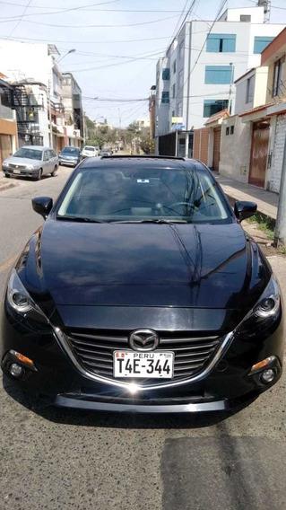 Mazda 3, Version 2017 Sedan Motor 2.0 Full Color Negro.