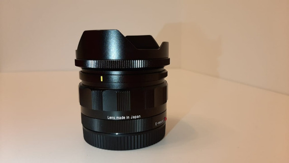 Lente Voigtlander Super Wideheliar 15mm F/4.5 Sonyfe A Vista