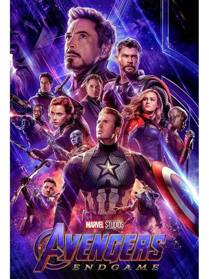 Placa - Quadro - Decorativo - Vingadores - Avengers - (v573)