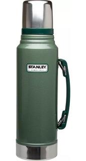 Termo Stanley 1 Litro Classic Verde En Caja Original