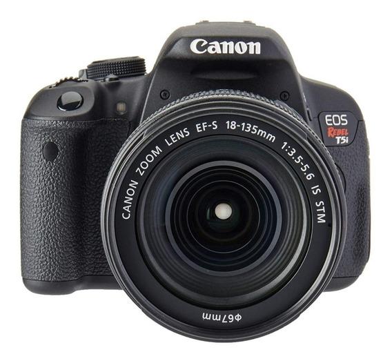 Canon Eos Rebel T5i 18×135 Mm + Bolso. Uso Mínimo!!
