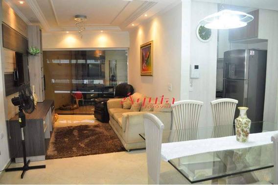 Sobrado Com 3 Dormitórios À Venda, 130 M² Por R$ 550.000 - Vila Curuçá - Santo André/sp - So1151
