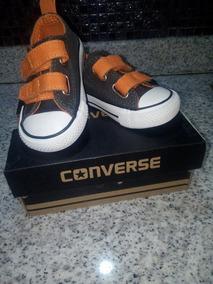 Zapatos Converse Con Cierre Mágico, En Perfectas Condiciones