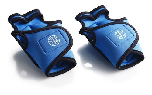 Imagen 1 de 5 de Par De Guantes Con Peso De 3lb Gold's Gym Yoga, Pilates
