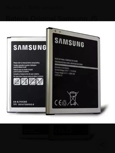 Imagen 1 de 2 de Batería Samsung J5 J320 J2 Prime J7