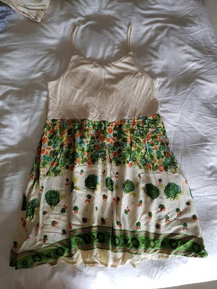 Vestido Farm De Alcinhas - Tam. M