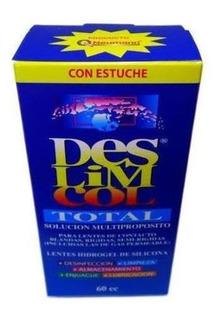 Solucion Para Lentes De Contacto Deslimcol 60ml
