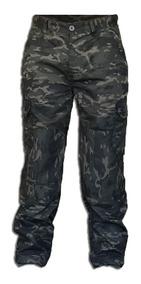 Calça Tática Camuflada Ripstop 6 Bolsos Masculina