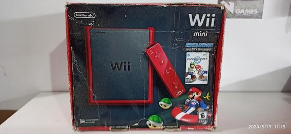 Nintendo Wii Mini Com Caixa