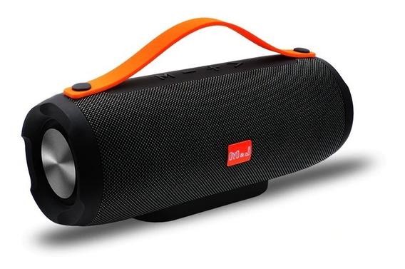 Caixa De Som M&j Original Bluetooth Portátil 10w