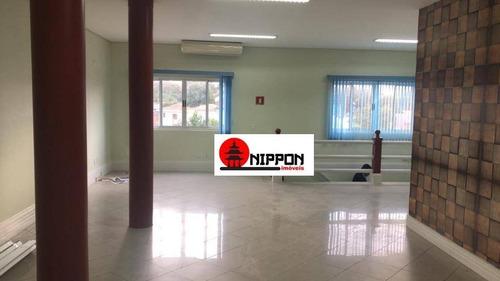 Prédio Para Alugar, 586 M² Por R$ 12.000,00/mês - Vila Leonor - Guarulhos/sp - Pr0012