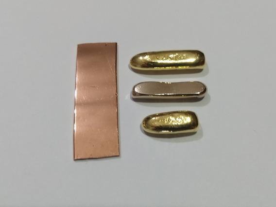 Ouro Amarelo 18 K 750 Barra 3 Gr Barra Alianças, Jóias