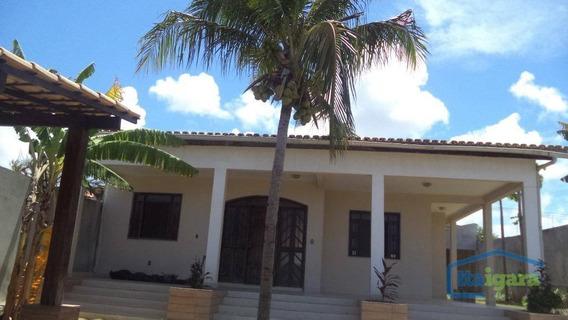 Casa Residencial Para Locação, Arembepe, Camaçari. - Ca0078