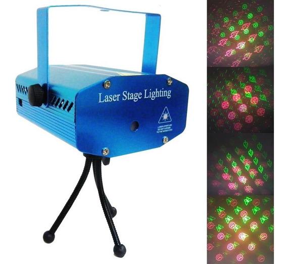 Projetor Laser Holografico Canhao Efeitos Luzes Festas Natal