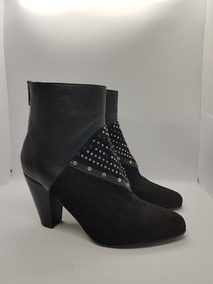 Bendito Pie Bota Morris Gamuza/cuero Zapato Mujer