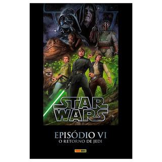 Hq Star Wars Episódio Vi O Retorno De Jedi Panini Capa Dura